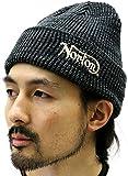 (ノートン) NORTON ニットキャップ メンズ ニット帽 メンズ ワッチ 1color Free ブラック