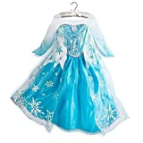 LifeAWish- Frozen Elsa Disney Princess Dress Pageant Dresses Princess Costume(2T-10)