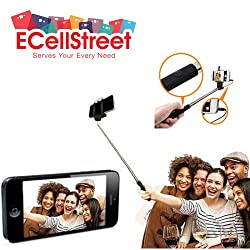 ECellStreet Selfie Stick Wireless Monopad With Aux Cable For HTC Desire Eye