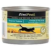 Ziwi Peak (ジーウィーピーク) デイリーキャット クィジーン 缶 ベニソン&フィッシュ 170g