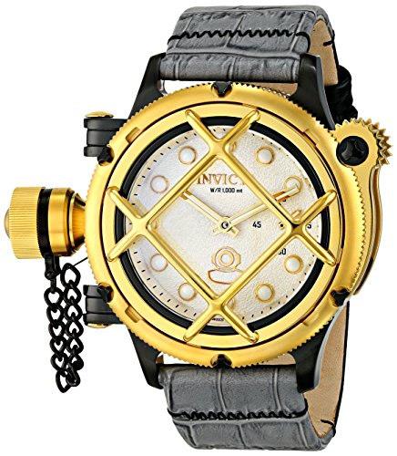 Invicta-Mens-16357-Russian-Diver-Analog-Display-Mechanical-Hand-Wind-Grey-Watch
