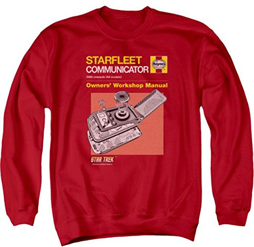 Sweater: Communicator Manual Star Trek The Original Series CBS1627AS
