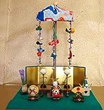 『卓上ミニ輪飾り端午の節句』 五月人形