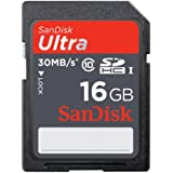 Sandisk 16GB Ultra SDHC Memory Card For Canon Powershot A3500 is Camera
