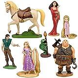 塔の上のラプンツェル フィギュアセット7Pc. (Rapunzel Tangled Figure Play Set -- 7-Pc.)[並行輸入品]
