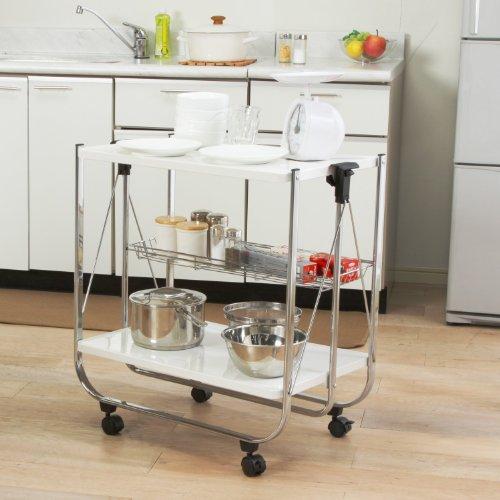 おしゃれで機能的な10台のキッチンワゴン:プラスαの家具、キッチンワゴンを置いてみる 5番目の画像