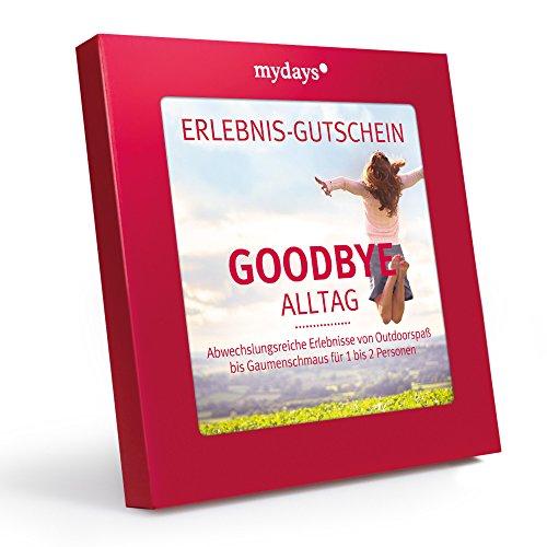 Mydays Magic Box Goodbye Alltag Erlebnisgutschein Das Perfekte Geschenk F R Ein