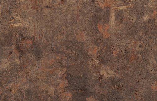 Tischplatte-Werzalit-Dekor-Rostbraun-110x70-cm-rechteckig-wetterfest-Ersatztischplatte-Bistrotisch-Stehtisch-Tisch-Gastronomie