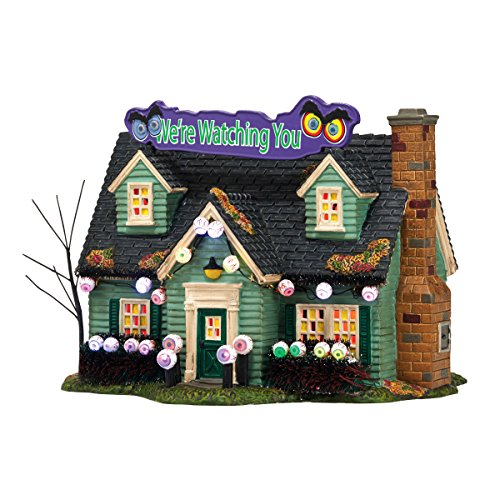 Dept56 Halloween Glares And Stares House