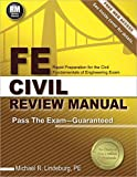 img - for FE Civil Review Manual book / textbook / text book