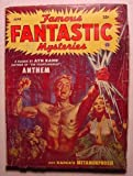 Famous FANTASTIC Mysteries June 1953 ANTHEM by AYN RAND RARE Last Issue (Volume 14)