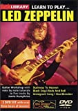 Learn To Play Led Zeppelin [DVD]