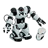 Babrit Robotmaster Interactive Programmable RC Robot Infrared Remote Controlled Robot with Intelligent Walking Running Remote Control Robot