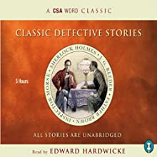 Classic Detective Stories Audiobook by Arthur Conan Doyle, Colin Dexter,  more Narrated by Edward Hardwicke