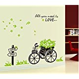 Decals Arts Bandwagon Large House Decoration Wall Sticker