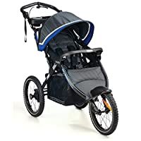Kolcraft Sprint Pro Jogging Stroller, Sonic Blue by Kolcraft