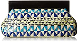 Nine West Collection Bora Clutch, Indigo, One Size