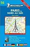 Plan de ville : Paris du nord au Sud,...