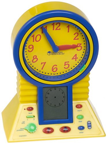 Learning Resources Talking Clever Clock - 1