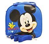 Disney Mickey Mouse Lunch Box Bag with Shoulder Strap and Water Bottle