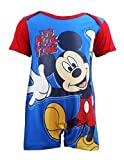 """Disney Baby Boys Mickey Mouse """"It's Play-time"""" Romper"""