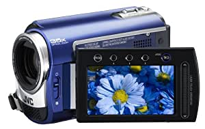 JVC Everio GZ-MG330 30 GB Hard Disk Drive Camcorder with 35x Optical Zoom (Blue)