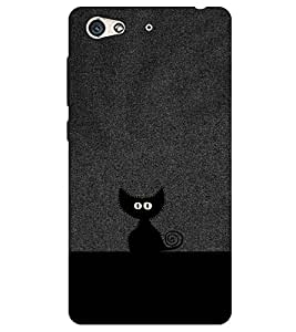 Chiraiyaa Designer Printed Premium Back Cover Case for Gionee S6 (cat black hide) (Multicolor)