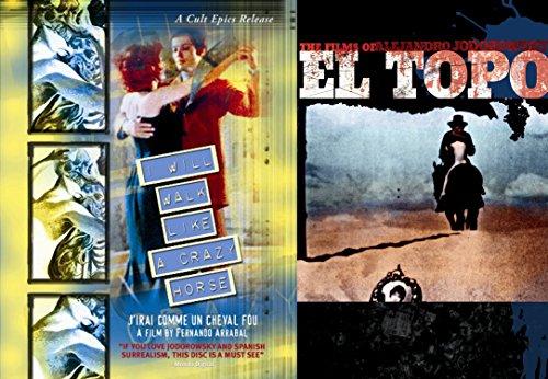 El Topo & I Will Walk Like A Crazy Horse - Panic Film Movement DVD Art Cinema Set