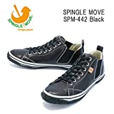 (スピングルムーヴ)SPINGLEMOVE spm442-05 スニーカー SPINGLE MOVE SPM-442/ Black M25.5cm Black