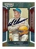 Al Unser Sr. autographed trading card (Auto Racing NASCAR) 2008 Donruss Sports Legends #116