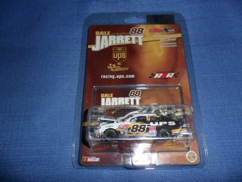 2002-nascar-action-racing-collectables-dale-jarrett-88-ups-ford-taurus-1-64-diecast-hood-opens-limit