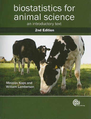 Biostatistics for Animal Science: An Introductory Text