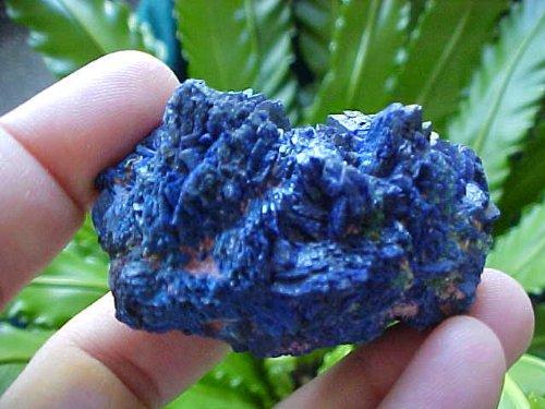 Car1904 Electric Blue Azurite Cluster