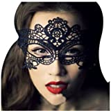 ETSYG Sexy Lace Eyes Mask for Masquerade Party Fancy Dress Black Plus ETSYG Bag