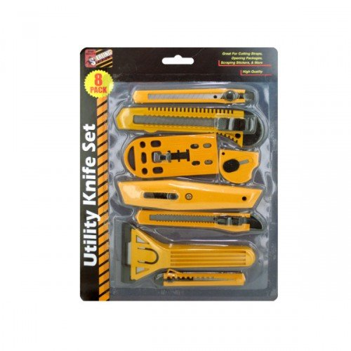 Utility Knife Set (Available In A Pack Of 4)