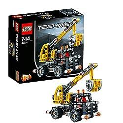 Technic - HubarbeitswagenMit der fantastischen LEGO® Technic Hubarbeitsbühne erreichst du schwindelerregende Höhen!Mit der fantastischen LEGO® Technic Hubarbeitsbühne erreichst du schwindelerregende Höhen! Dieses robuste 2-in-1-Modell ist mit realitä...