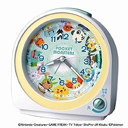 SEIKO Pokemon Alarm Clock (White) CQ417W by MCtraddy