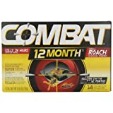 Combat 12 Month Roach Bait, Small, 18 Count
