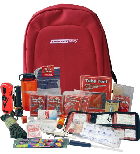 Emergency Survival Kit, Grab and Go Bag for Disaster
