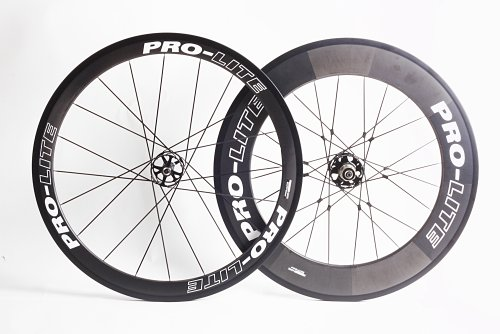 Pro-Lite Gavia P59 Road Bike Tubular Wheelset 50/90 mm Full Carbon Shimano