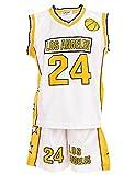 24brands - Jungen Sport Basketball Baseball Shirt Trainings...