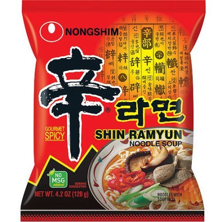 Nongshim Shin Ramyun Noodle Soup, Gourmet Spicy, 4.2 Ounce (Pack of 16) (Kimchi Rice compare prices)