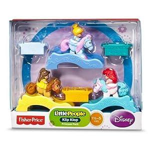 Fisher-Price Little People Disney Princess Klip Klops 3 Pack Exclusive