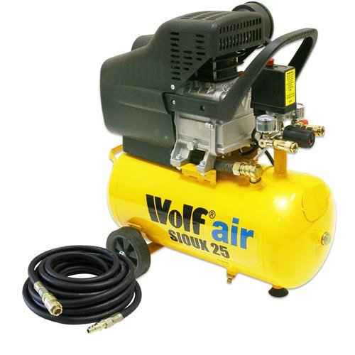 Cheap Price Wolf Air Sioux 24 Litre, 2 5HP Induction Motor