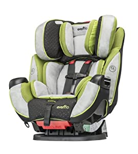Evenflo Symphony Elite Convertible Car Seat, Porter