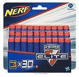 Nerf - A03511480 - Jeu de Plein Air - Elite - Recharges fléchettes X30