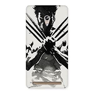 Radiant Ready for Wolf Back Case Cover for Zenfone 6