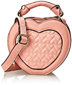 LUV BETSEY by Betsey Johnson Novelty Heart Cross Body Bag