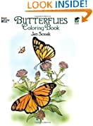 Butterflies Coloring Book (Dover Nature Coloring Book)