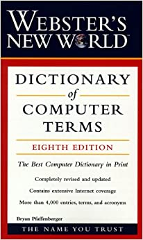 computer science terms dictionary